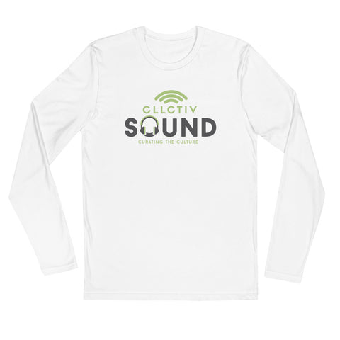 CLLCTIVSOUND - Long Sleeve Fitted Crew