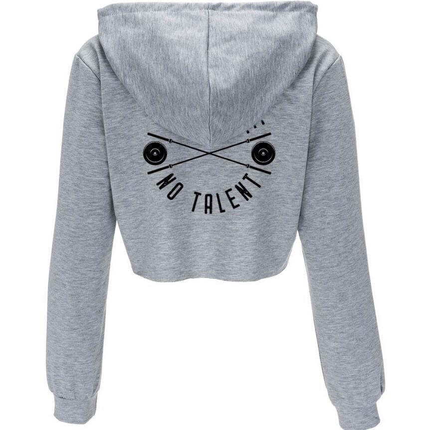 Female Pullover Cropped Hoodie