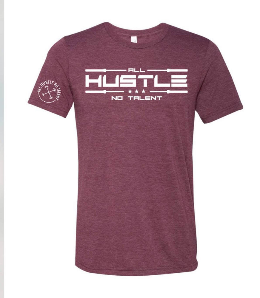 All Hustlers Maroon T-Shirt