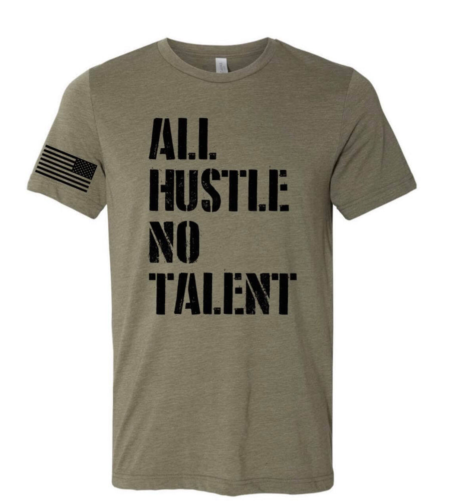 All Hustlers Military Styled Shirt