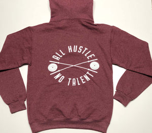 Male/Female Maroon Pull Over Hoodie
