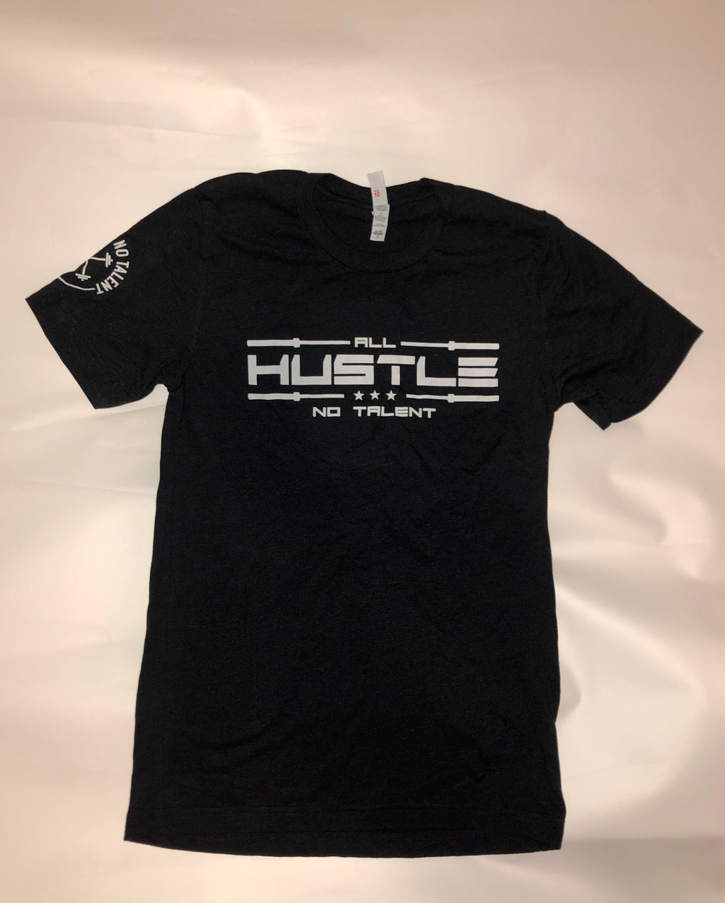 The All Hustlers' Black/Charcoal T-Shirt