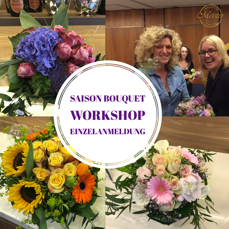 Saison Bouquet Workshop Einzelanmeldung