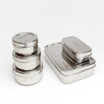 Stainless Steel Containiers - 5pc Lunch Kit