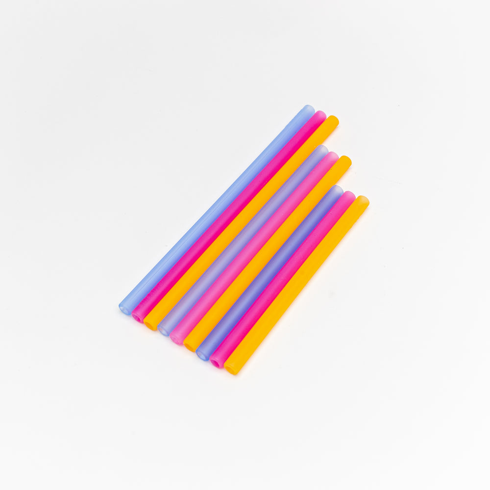 Load image into Gallery viewer, Reusable Silicone Straws