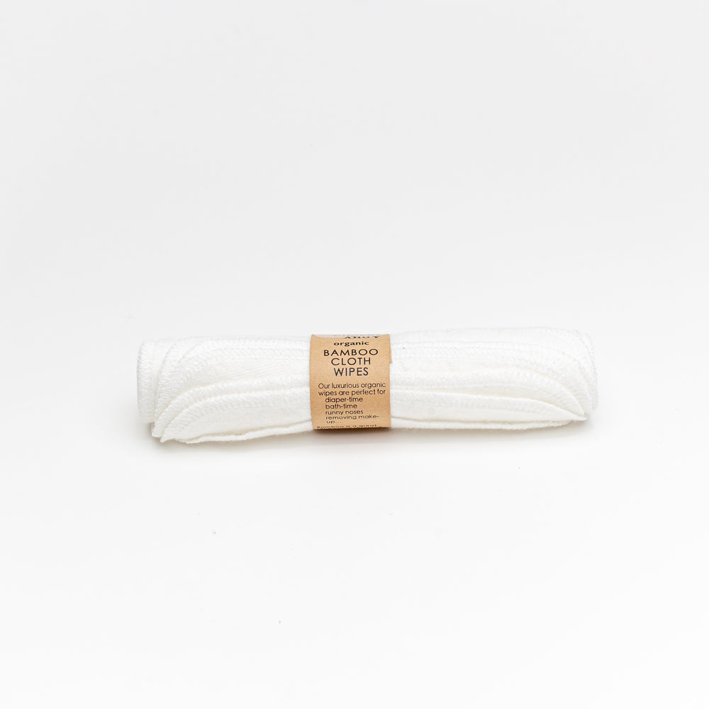 Reusable Bamboo Cloth Wipes