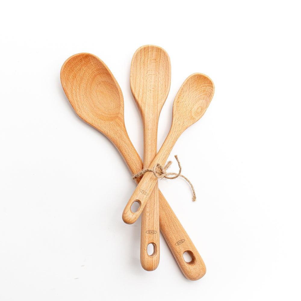 Load image into Gallery viewer, Set of 3 Wood Spoons