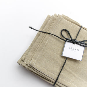 Linen Napkins - Set of 4