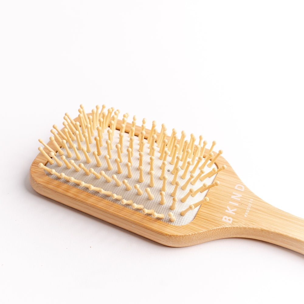 Load image into Gallery viewer, Bamboo Paddle Hairbrush