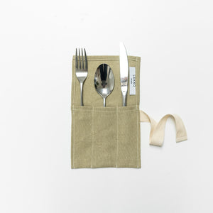 Lekko Life Goods Linen Cutlery Roll - The Kind Matter Co.