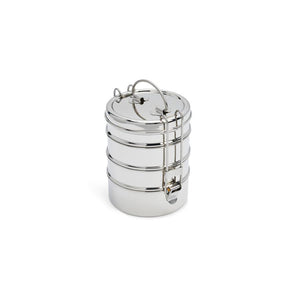 Stainless Steel Containers - 4-Layer Tiffin