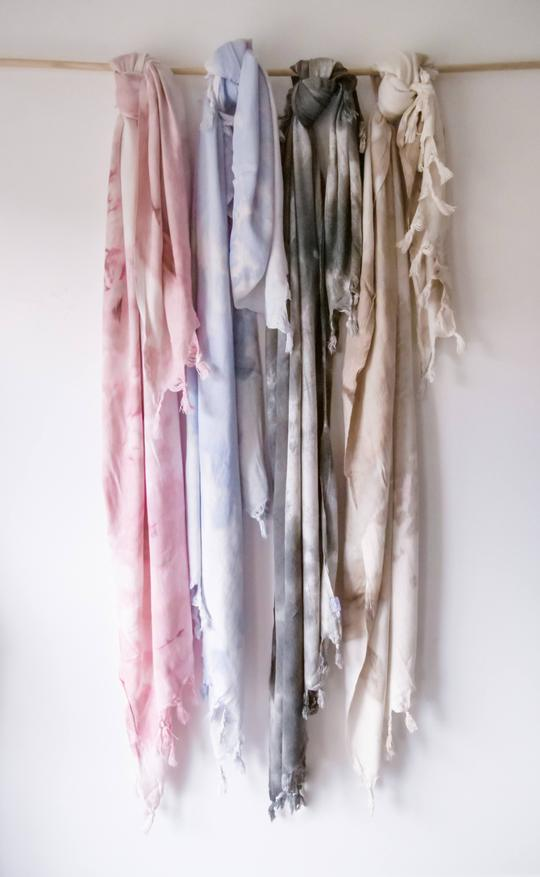Oversized Tie Dye Turkish Towel
