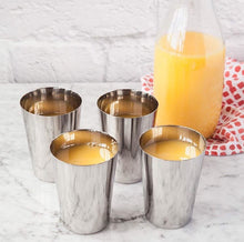 Load image into Gallery viewer, Dalcini Stainless  300ml cups - set of 4 - The Kind Matter Co.