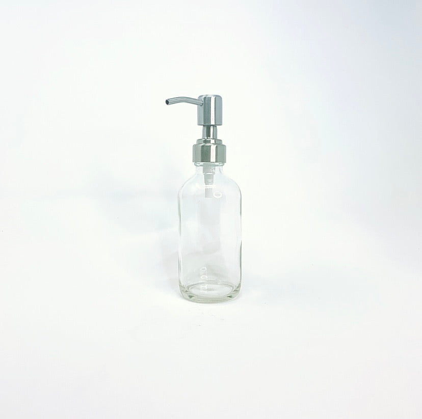 Stainless Steel Pump Bottle Lid