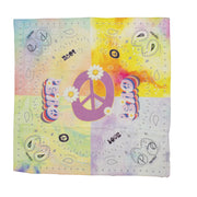 Peace Cotton ☮ Bandana Scarf