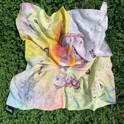 Peace Cotton Bandana Scarf