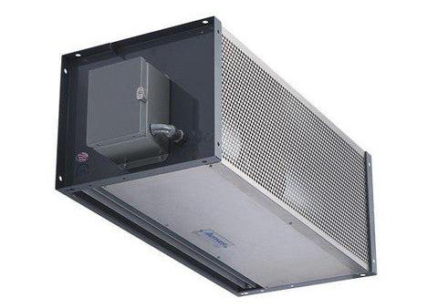 berner air curtain for brewery