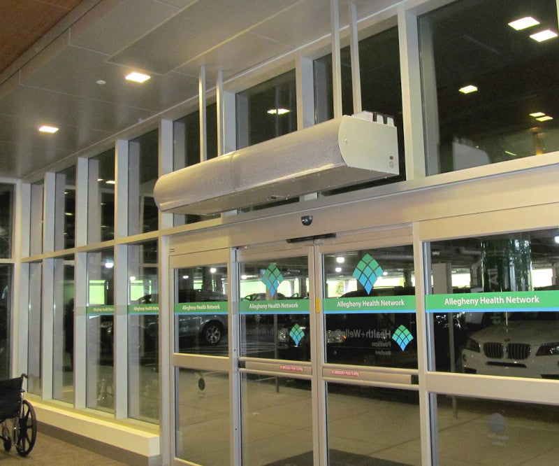 air curtains for hospitals