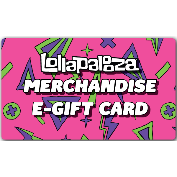 Lollapalooza Merch eGift Card