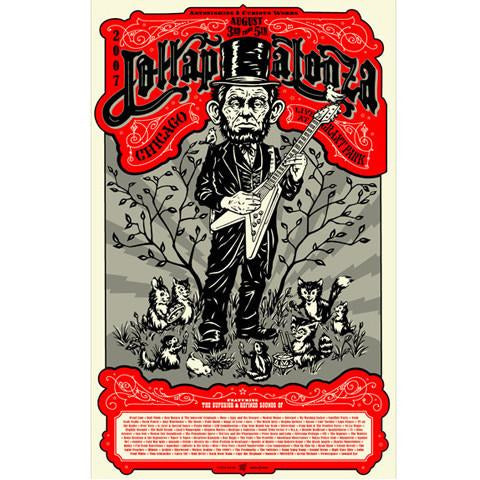 2007 Lollapalooza Commemorative Poster