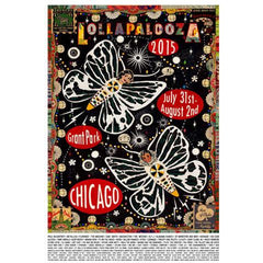 2015 Lollapalooza Poster — Commemorative Edition