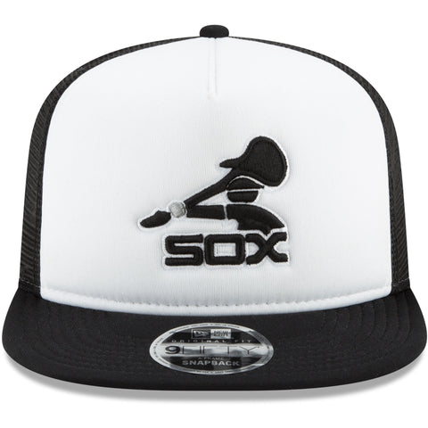 Whitesox Hat White-Black