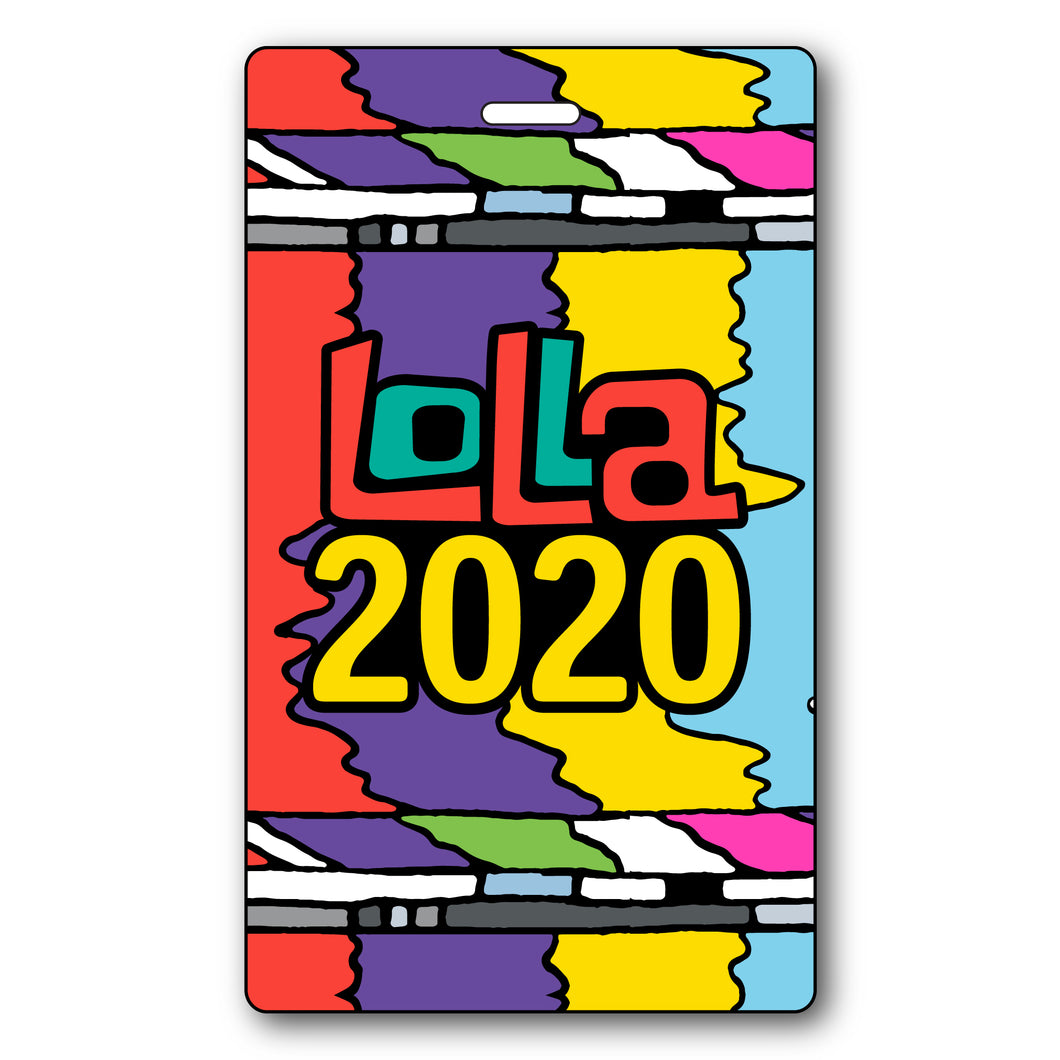Lolla2020 Collectible Credential + Lanyard