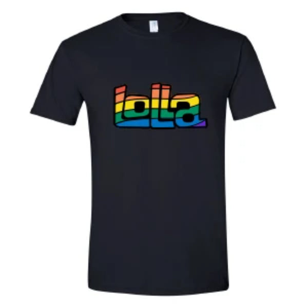 Lolla Pride Tee - Black