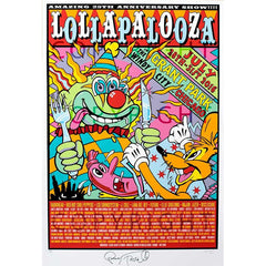 2016 Lollapalooza Poster — Signed & Numbered Edition