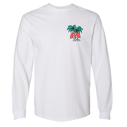 Long sleeve Palm Tree