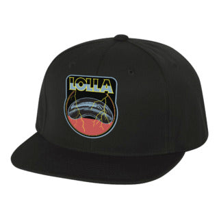 Bean Black Flatbill Hat