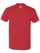 Load image into Gallery viewer, PegaBufficorn Yogi Red Shirt - Men's Cut [2020]