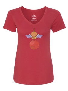 PegaBufficorn Yogi Red Shirt - Women's Cut [2020]