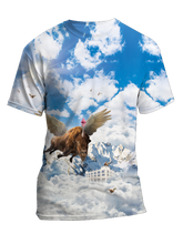 Load image into Gallery viewer, PegaBufficorn & Marmot Clouds Shirt [2020]