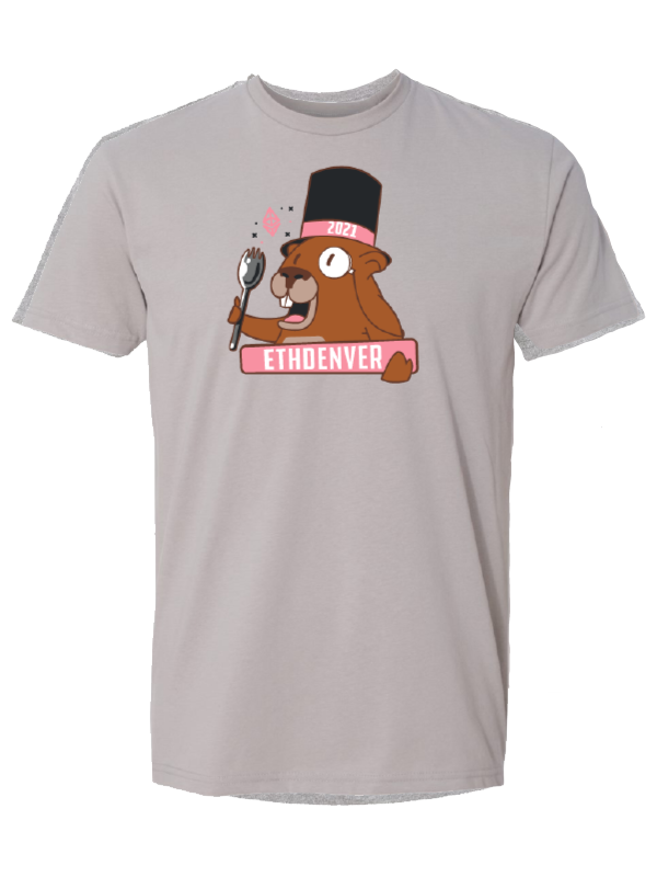 ETHDenver Year of the Spork Marmot Shirt [2021]