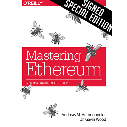 Andreas M. Antonopoulos Limited Edition Signed Book (+NFT)