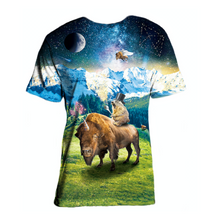 Load image into Gallery viewer, Bufficorn & Marmot Sublimated Shirt - 2019 (+NFT)