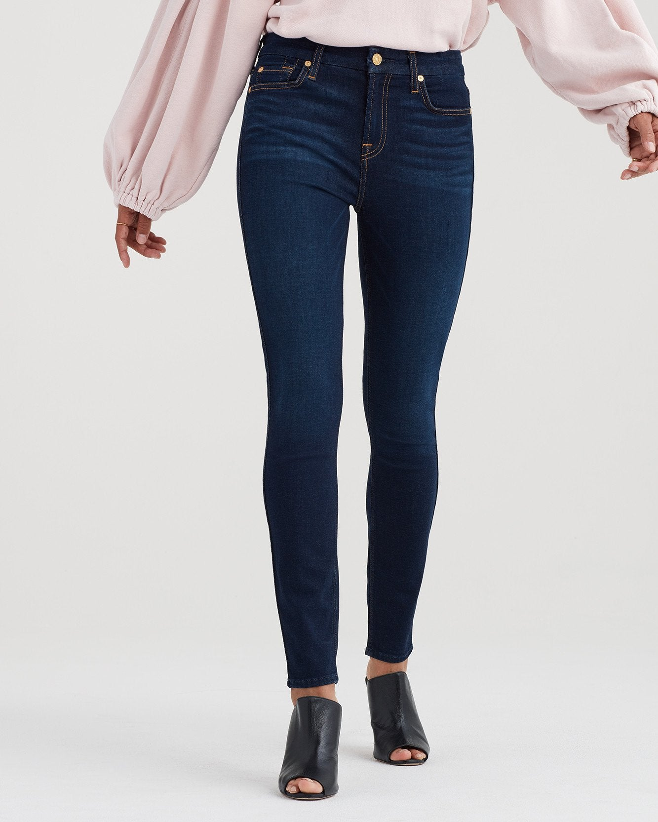 High Waist Ankle Skinny - Tried and True