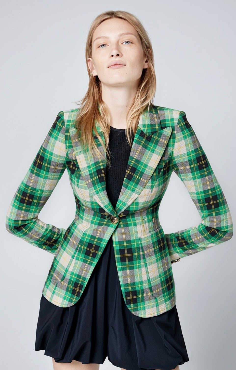 SMYTHE - Patch pocket duchess blazer