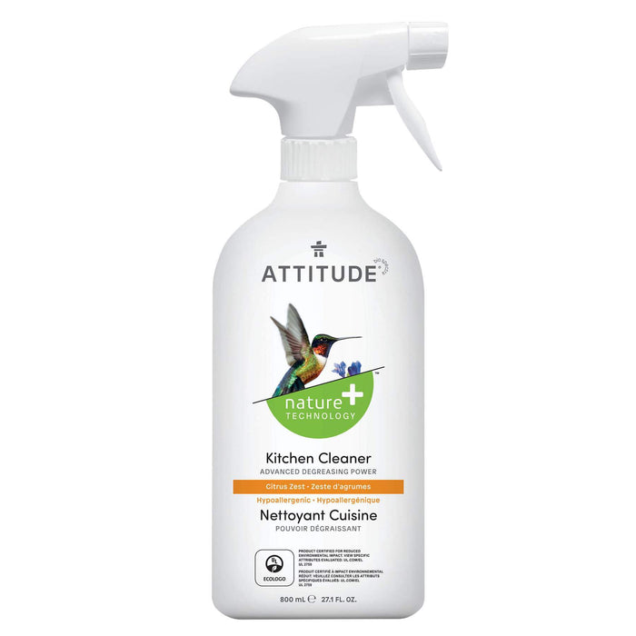 nature+ hypoallergenic kitchen cleaner- citrus zest