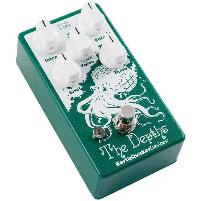 Earthquaker Depths Optical Vibe Machine Guitar Pedal