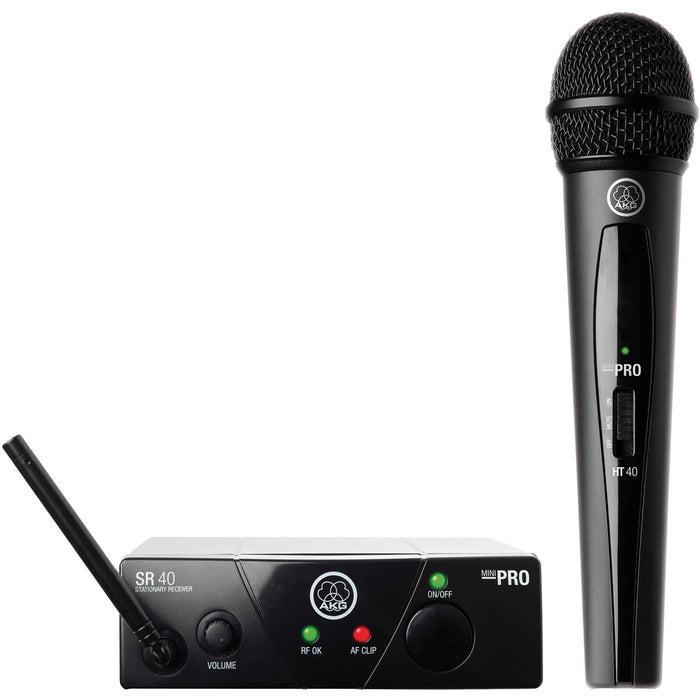 AKG WMS 40 Mini Vocal Set (Freq. 25A) Wireless Microphone