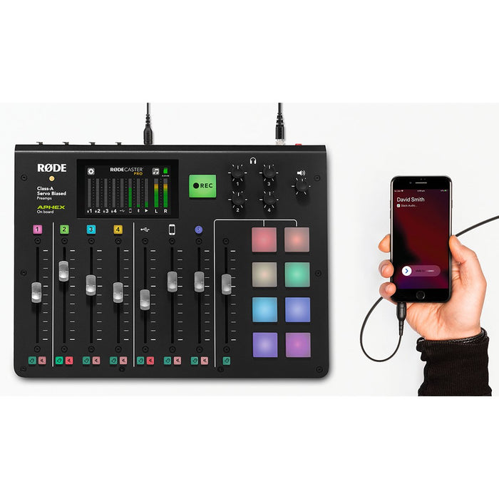 Rode Microphones RODECaster Pro Integrated Podcast Production Studio