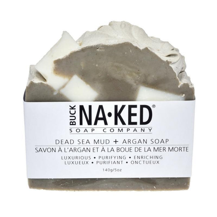 dead sea mud & argan vegan soap bar