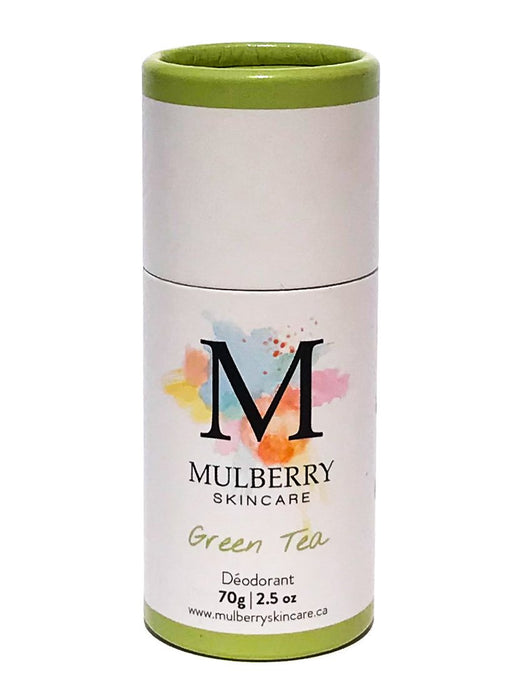 all natural deodorant - green tea | mulberry skincare