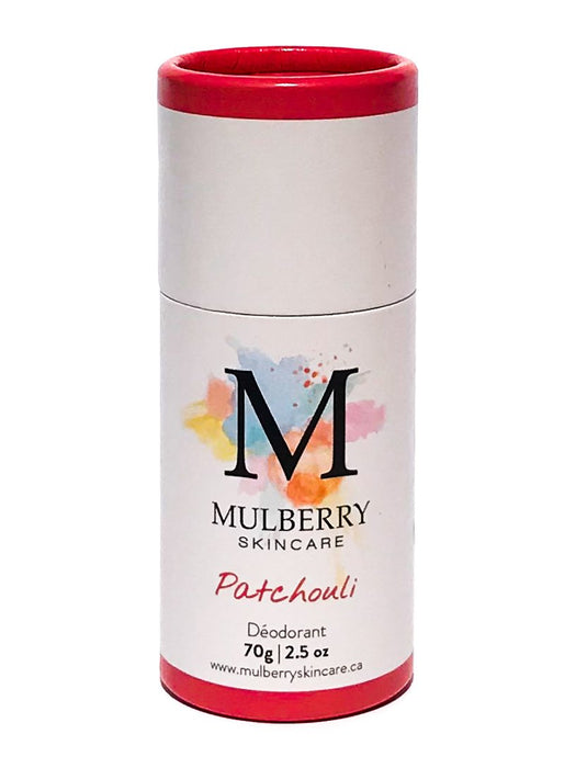 all natural deodorant - patchouli | mulberry skincare