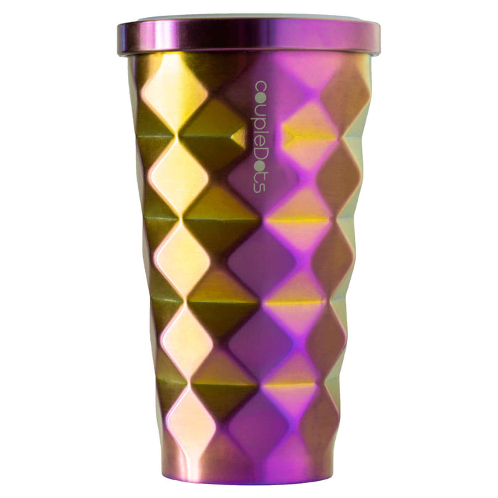 Disco Mug Travel Mug Tumbler For Hot and Cold Drinks with Straw