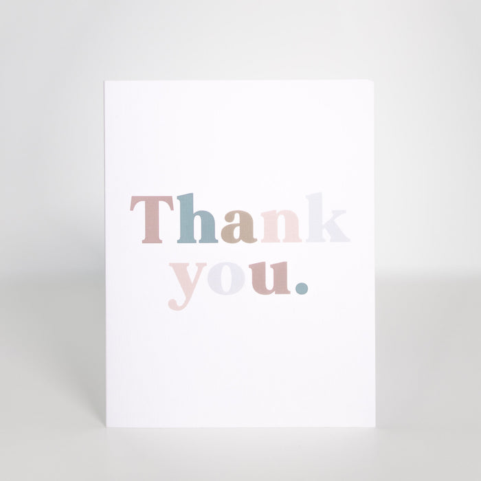 [note:able] - Card 5 Pack - Thank You