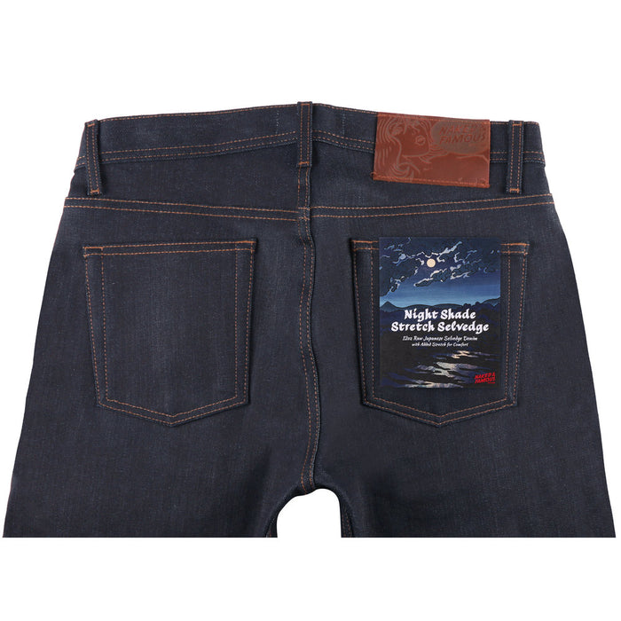Naked and Famous Super Guy Night Shade Stretch Selvedge