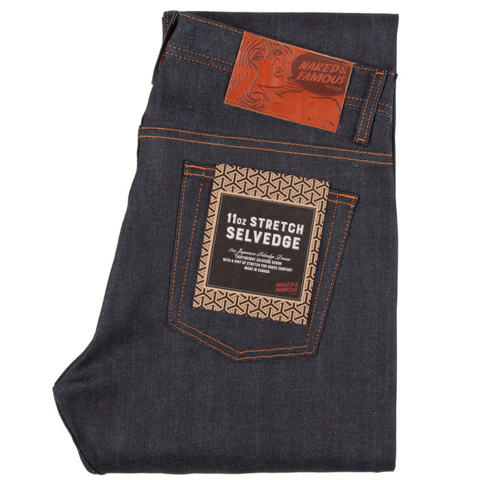 Naked & Famous Weird Guy 11oz Stretch Selvedge